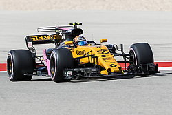 October 21, 2017 - Austin, Texas, U.S - Carlos Sainz (55) of Spain in action during the final practice before the Formula 1 United States Grand Prix race at the Circuit of the Americas race track in Austin,Texas. (Credit Image: © Dan Wozniak via ZUMA Wire)