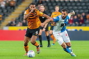 Kevin Stewart of Hull City during the EFL Sky Bet Championship match between Hull City and Blackburn Rovers at the KCOM Stadium, Kingston upon Hull, England on 20 August 2019.
