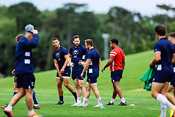 Luke Morahan looks on as Bristol Bears start to use their new almost completed Training centre - Rogan/JMP - 08/07/2020 - RUGBY UNION - Beggar Bush Lane - Bristol, England.