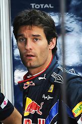 23.10.2010, Korea International Circuit, Yeongam, KOR, F1 Grandprix of Korea, im Bild .Mark Webber (AUS), Red Bull Racing, EXPA Pictures © 2010, PhotoCredit: EXPA/ InsideFoto/ Hasan Bratic *** ATTENTION *** FOR AUSTRIA AND SLOVENIA USE ONLY!