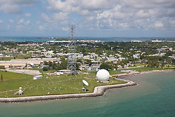 Aerial view of Naval Air Station Key West, Florida, United States of America