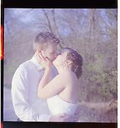 Jen & Chris Traub wedding..Yashica D .Kodak Porta 400 film.