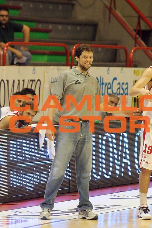 DESCRIZIONE : Pistoia Lega A2 2012-13 Giorgio Tesi Group Pistoia Aget Imola<br /> GIOCATORE : Vice coach Bongi Fabio<br /> SQUADRA : Giorgio Tesi Group Pistoia<br /> EVENTO : Coppa Italia Lega A2 2012-2013<br /> GARA : Giorgio Tesi Group Pistoia Aget Imola<br /> DATA : 30/09/2012<br /> CATEGORIA : Palleggio<br /> SPORT : Pallacanestro<br /> AUTORE : Agenzia Ciamillo-Castoria/Stefano D'Errico<br /> Galleria : Lega Basket A2 2011-2012 <br /> Fotonotizia : Pistoia Coppa Italia Lega A2 2011-2012 Giorgio Tesi Group Pistoia Aget Imola<br /> Predefinita :