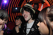 NOEL FIELDING, Scarlet launch.- LG Scarlet TV. 1 Marylebone. London NW1. 30 April 2008. *** Local Caption *** -DO NOT ARCHIVE-© Copyright Photograph by Dafydd Jones. 248 Clapham Rd. London SW9 0PZ. Tel 0207 820 0771. www.dafjones.com.