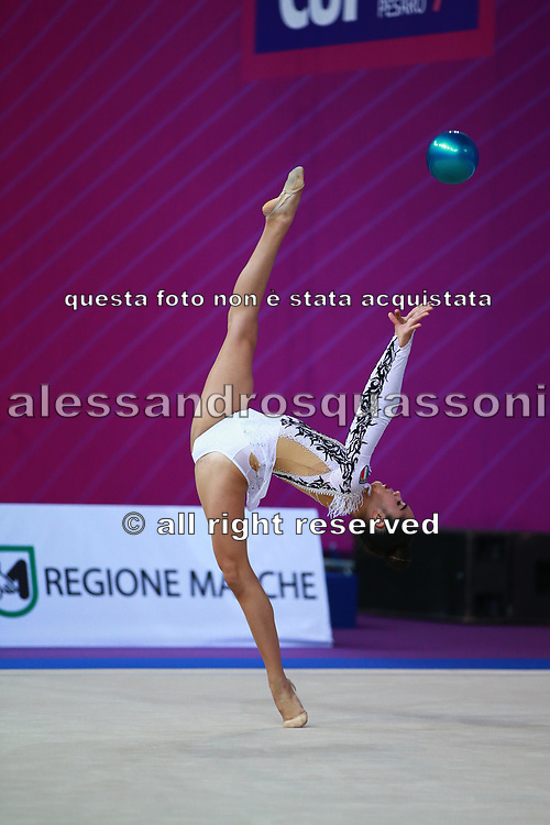 Alexandra Ana Maria Agiurgiuculese is an Italian gymnast, of Romanian origins, individualist of the Italian National Rhythmic Gymnastics.