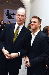 Left to right, SANDY NAIRN Director of the National Portrait Gallery and BRYAN ADAMS at a private view of Bryan Adam's photographs entitled 'Modern Muses' held at The National Portrait Gallery, London on 11th March 2008.<br /><br />NON EXCLUSIVE - WORLD RIGHTS