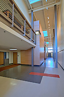 Architectural Interior image of the Potomac pper School in Washington DC, built by Coakley Williams Construction, Photography by JeffreySauers of Commercial Photographics