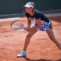 Elise Mertens of Belgium during Day 5 for the French Open 2018 on May 31, 2018 in Paris, France. (Photo by Baptiste Fernandez/Icon Sport)