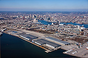 Port of Balltimore aerial photography of the Maryland Cruise Terminal and SLPl by Jeffrey Sauers of Commercial Photographics