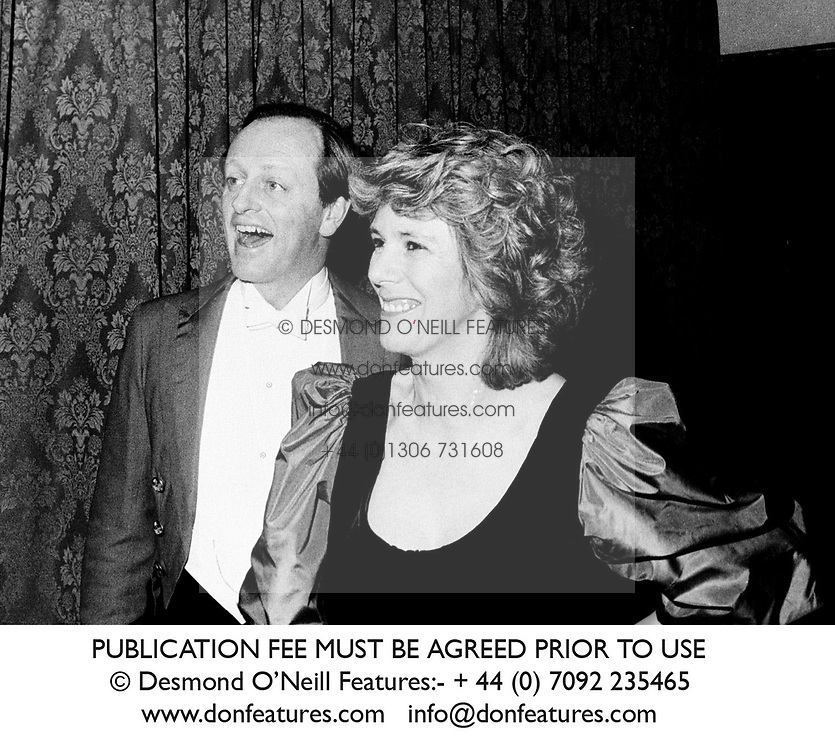 ANDREW & CAMILLA PARKER BOWLES at a ball in March 1986.<br /> JMN 24<br /> PUBLICATION FEE MUST BE AGREED PRIOR TO USE<br /> © Desmond O'Neill Features:- + 44 (0) 7092 235465<br /> www.donfeatures.com   info@donfeatures.com