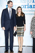 030713 prince felipe and princess letizia in memorian
