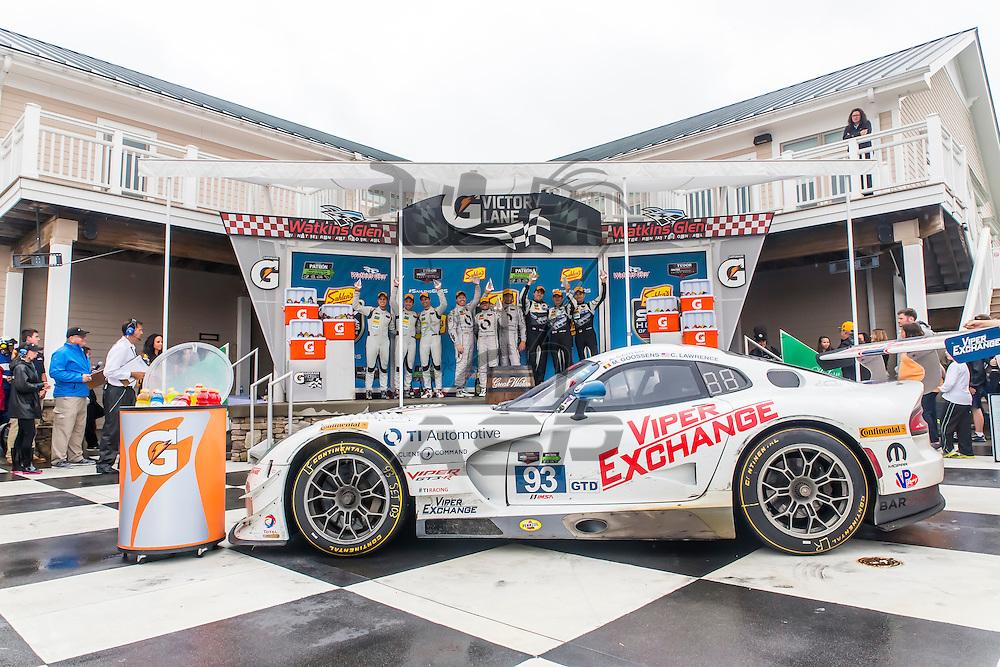 Watkins Glen, NY - Jun 28, 2015:  The Tudor United SportsCar Championship teams take to the track for the Sahlen's Six Hours of The Glen for the TUDOR Championship at Watkins Glen International in Watkins Glen, NY.