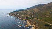 August 16, 2017: Pacific Coast Highway, Monterey California