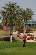 Sebastian Heisele (GER) on the 4th during Round 2 of the Commercial Bank Qatar Masters 2020 at the Education City Golf Club, Doha, Qatar . 06/03/2020<br /> Picture: Golffile | Thos Caffrey<br /> <br /> <br /> All photo usage must carry mandatory copyright credit (© Golffile | Thos Caffrey)