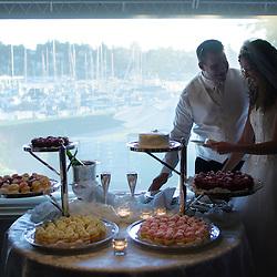 Ann & Travis, Seattle Yacht Club