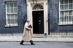 © Licensed to London News Pictures. 22/10/2019. London, UK. Attorney General GEOFFREY COX is seen walking in front of No 10 Downing Street. Photo credit: Dinendra Haria/LNP