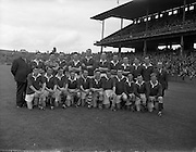 08/09/1957<br /> 09/08/1957<br /> 08 September 1957<br /> <br /> Junior Home Finals. Cork vs Mayo.