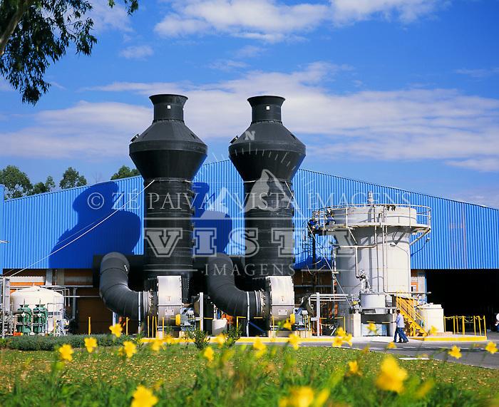 Industria de Aluminio - Alcoa, Tubarao, Santa Catarina, Brasil. foto de Ze Paiva/Vista Imagens