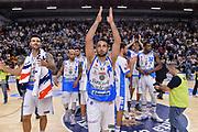 DESCRIZIONE : Beko Legabasket Serie A 2015- 2016 Dinamo Banco di Sardegna Sassari -Vanoli Cremona<br /> GIOCATORE : Rok Stipcevic<br /> CATEGORIA : Ritratto Esultanza Postgame<br /> SQUADRA : Dinamo Banco di Sardegna Sassari<br /> EVENTO : Beko Legabasket Serie A 2015-2016<br /> GARA : Dinamo Banco di Sardegna Sassari - Vanoli Cremona<br /> DATA : 04/10/2015<br /> SPORT : Pallacanestro <br /> AUTORE : Agenzia Ciamillo-Castoria/L.Canu