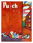 PUNCH 1960s Front Cover Cartoons