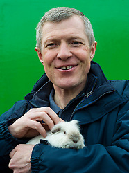 Pictured: Willie Rennie and Ruby the Guinea pig<br /> Scottish Liberal Democrat leader Willie Rennie called for a boost to vocational training opportunities when he met volunteers, Leah Muirhead and Graham Mathieson, at Gorgie City Farm in Edinburgh. After touring the farm, which provides volunteering and training opportunities for at-risk young people and adults with additional support needs, Mr Rennie set out Lib Dem plans to increase opportunities for industry-recognised vocational qualifications.  <br /> Ger Harley | EEm 8 April 2016