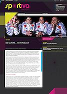 L'équipe de France de Squash féminin dans Sportiva-Infos.com.