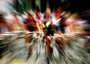 Bike race blur.