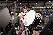 Luther Dickinson of the North Mississippi Allstars perforrms during Artscape in Baltimore, MD on Saturday, July 20, 2013.