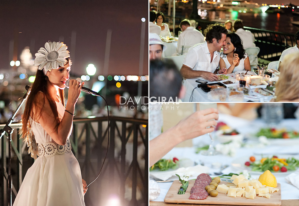 Editorial Travel Photography: Dinner in White, Diner en Blanc, New York City, NYC, Battary Park city, Manhattan, USA