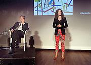 Nederland Amsterdam 05 september 2012<br /> Nigel Farage in debat over Europa met o.a. Sophie in 't Veld.<br /> Foto: Jan Boeve