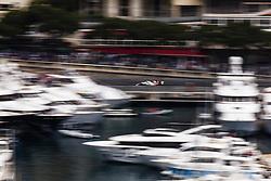 May 24, 2018 - Montecarlo, Monaco - 16 Charles Leclerc from Monaco with Alfa Romeo Sauber F1 Team C37  in the middle of the boats  during the Monaco Formula One Grand Prix  at Monaco on 24th of May, 2018 in Montecarlo, Monaco. (Credit Image: © Xavier Bonilla/NurPhoto via ZUMA Press)