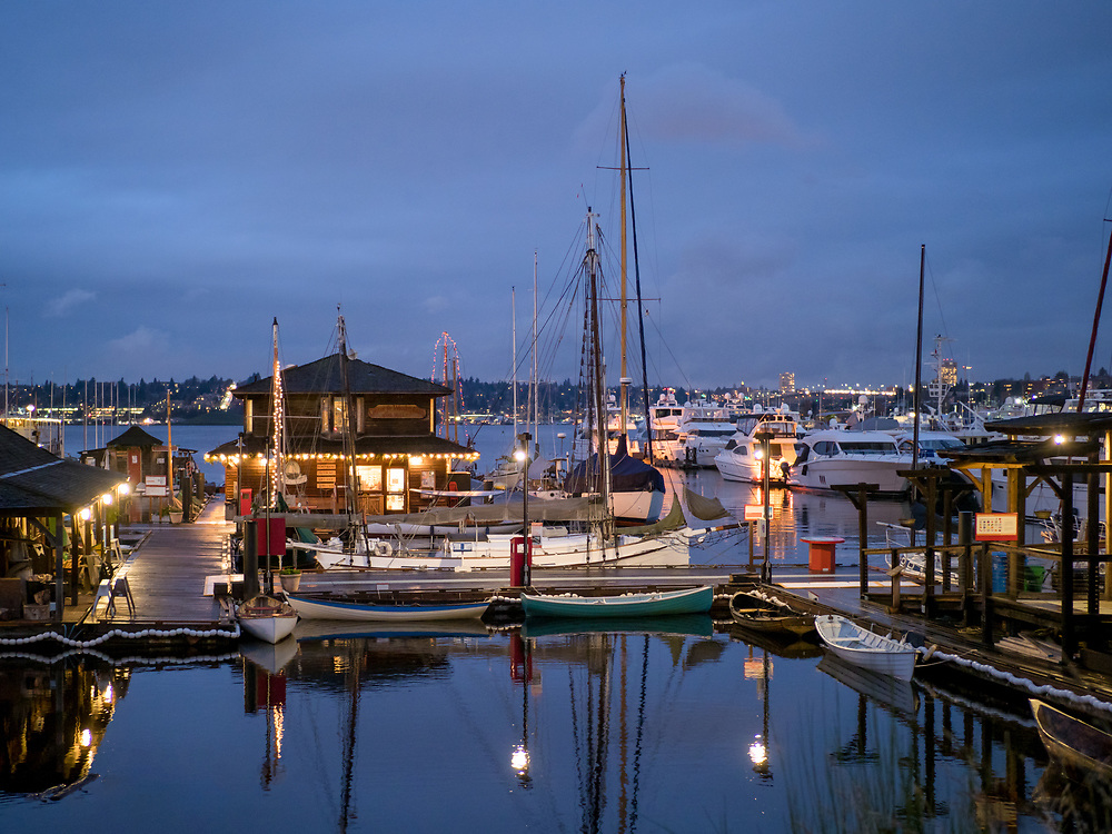 United States, Washington, Seattle, South Lake Union, Center for Wooden Boats