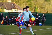 Lewes FC Steve Brinkhurst during the Ryman League - Div One South match between Dorking Wanderers and Lewes FC at Westhumble Playing Fields, Dorking, United Kingdom on 28 January 2017. Photo by Jon Bromley.