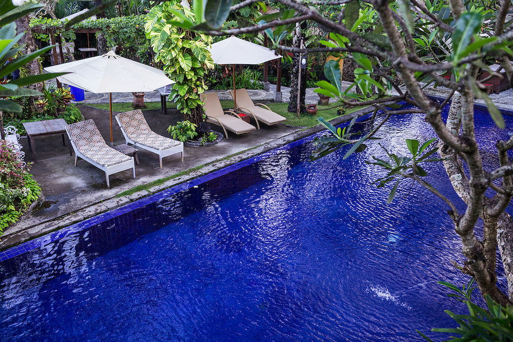 Swimming Pool at Tugu Hotel.