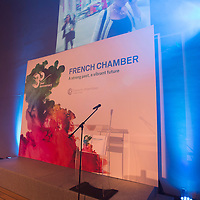 Participants celebrate the 30th Anniversary of the French Chamber of Commerce and Industry in Hong Kong on 23 September 2016 in Maritime Museum, Hong Kong, China. Photo by Raymond Cheuk / studioEAST