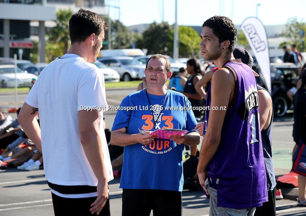 National 3 x 3 Basketball Tour, Manukau, Auckland, New Zealand, Saturday, March 14, 2015. Copyright photo: David Rowland / www.photosport.co.nz