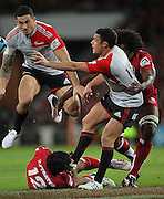 during the Super Rugby Final at Suncorp Stadium in Brisbane,  July 9, 2011.  Photo: Patrick Hamilton/Photosport