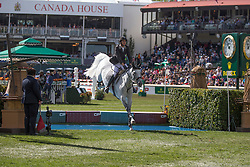 Guerdat Steve (SUI) - Nasa <br /> CP International Grand Prix presented by Rolex<br /> Spruce Meadows Masters - Calgary 2014<br /> © Dirk Caremans