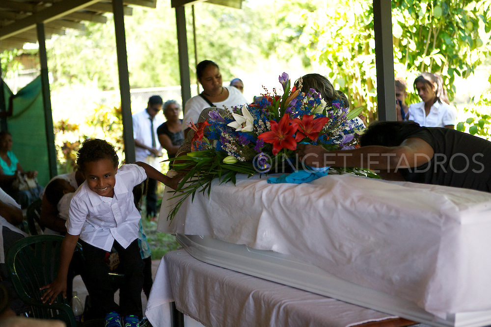 Funeral Hubert Stumpagee-One Arm Point