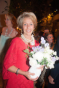 ROSITA SPENCER-CHURCHILL, DUCHESS OF MARLBOROUGH, The Cartier Chelsea Flower show dinner. Hurlingham club, London. 20 May 2013.