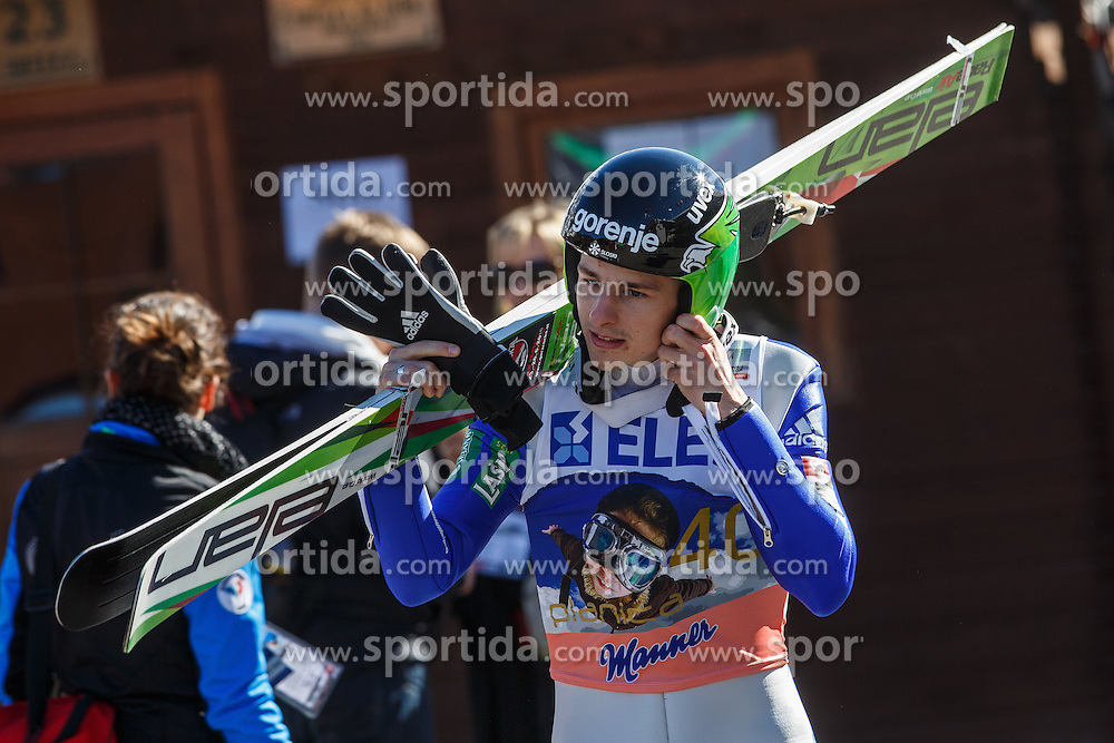 Jaka Hvala (SLO) during the Ski Flying Hill Individual Competition at Day 2 of FIS Ski Jumping World Cup Final 2016, on March 18, 2016 in Planica, Slovenia. Photo by Grega Valancic / Sportida