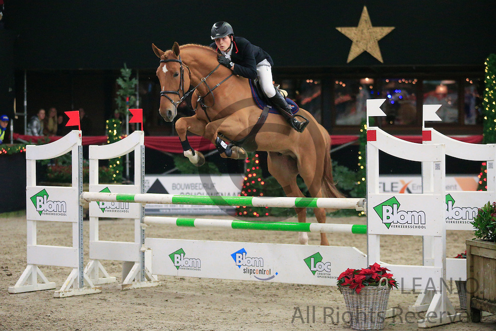 Maxime de Clercq - Inshallah de Muze<br /> KNHS/KWPN GMB Hengstencompetitie Roosendaal 2012<br /> © DigiShots
