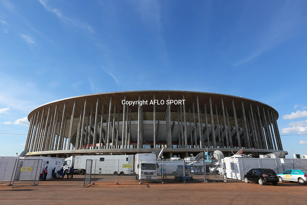 General view of Estadio Nacional, <br /> June 14, 2013 - Football / Soccer : <br /> FIFA Confederations Cup Brazil 2013 <br /> at Estadio Nacional, Brasilia, Brazil. <br /> (Photo by Daiju Kitamura/AFLO SPORT) [1045]