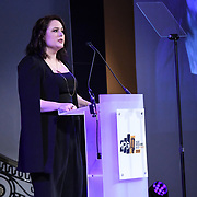 Manon Grandjean - Member's Address at The Music Producers Guild Awards at Grosvenor House, Park Lane, on 27th February 2020, London, UK.