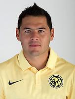 "Mexico League - BBVA Bancomer MX 2014-2015 -<br /> Aguilas - Club de Futbol America / Mexico - <br /> Pablo Cesar Aguilar "" Pablo Aguilar """