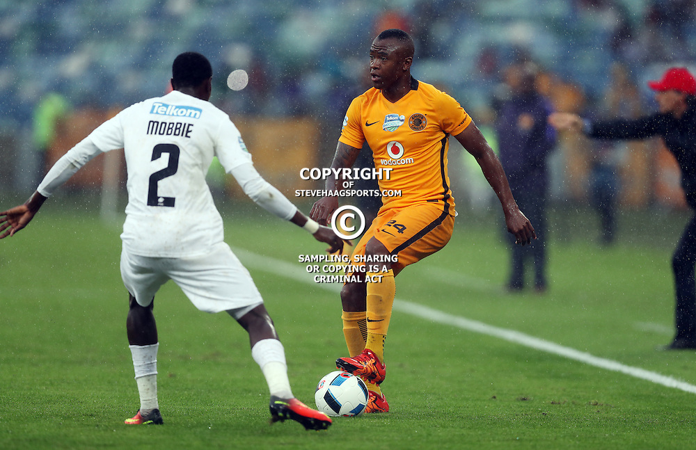 Tsepo Masilela of Kaizer Chiefs during the Telkom Knockout quarterfinal  match between Kaizer Chiefs and Free State Stars at the Moses Mabhida Stadium , Durban, South Africa.6 November 2016 - (Photo by Steve Haag Kaizer Chiefs)