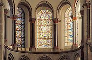 Europe, Germany, Cologne, romanesque church St. Kunibert...Europa, Deutschland, Koeln, romanische Kirche St. Kunibert.