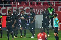 Fotball<br /> Frankrike<br /> Foto: Panoramic/Digitalsport<br /> NORWAY ONLY<br /> <br /> Dijon vs Saint Etienne - League 1 - 09/16/2017<br /> Joie de Jonathan Bamba et de ses coequipiers  (saint etienne)