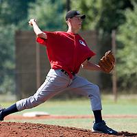 Baseball - MLB European Academy - Tirrenia (Italy) - 21/08/2009 - Aliaksei Lukashevich (Belarus)
