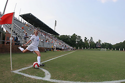 Virginia Cavaliers M Jen Redmond (4)..The Virginia Cavaliers Women's Soccer Team fell to Seton Hall University 1-0 on September 10, 2006 at Klöckner Stadium in Charlottesville, VA...